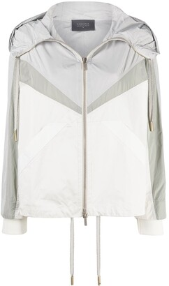 Lorena Antoniazzi Colour-Blocked Rain Jacket