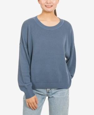 Hippie Rose Juniors' Drop-Shoulder Sweater