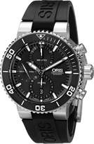 Oris Men's 77476554154RS Aquis Analog Display Swiss Automatic Watch