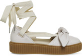 Puma Bow creeper leather ballet sandals