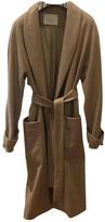 BOSS Beige Cashmere Coat for Women