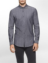 Calvin Klein Slim Fit Moire Jacquard Shirt