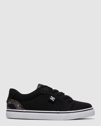 DC Youth Anvil TX SE Shoe