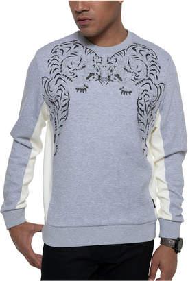 Sean John Men Embroidered Tiger Sweatshirt
