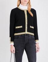Claudie Pierlot Maxypunk knitted cardigan