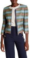 Karen Millen Geo Basket Weave Jacket