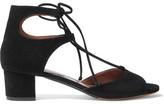 Tabitha Simmons Tallia Suede Sandals - Black
