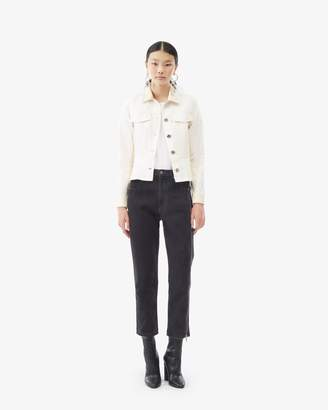 3.1 Phillip Lim Denim Peplum Jacket