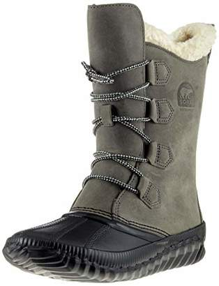 Sorel Women's OUT OUT N ABOUT PLUS TALL Duck Boots,Size UK: 5 38 EU
