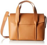 Skagen Beatrix, Women's Satchel, Braun (Tan), 24x13x12 cm (B x H T)