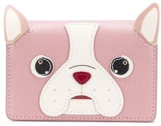 Furla dog cardholder wallet