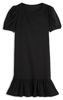 Aqua Girls' Puff Sleeve Flounce Dress, Big Kid - 100% Exclusive