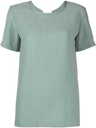 Alysi crew-neck short sleeve T-shirt