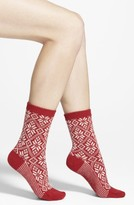 Smartwool Women's Snowflake Pattern Crew Socks
