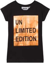 Molo Black and Gold Rozalia T-Shirt
