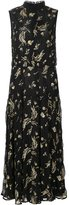 Suno sleeveless floral dress