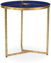Chelsea House Roscoe Round Side Table - Blue