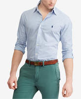 Polo Ralph Lauren Men's Classic-Fit Plaid Poplin Shirt