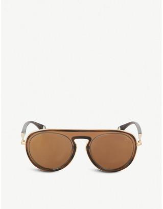 BLAKE KUWAHARA Eero aviator acetate sunglasses