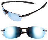 Revo Men's 'Descend E' 64Mm Polarized Sunglasses - Black/ Blue Water