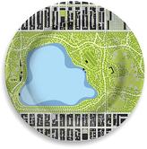 notNeutral Central Park Reservoir Porcelain Park Plate