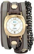 La Mer Women's LMMULTICW2001 Aperitif Chain Wrap Watch