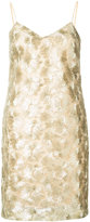 Trina Turk short embroidered dress