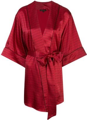 Kiki de Montparnasse Handcuff Print Robe