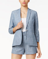 XOXO Juniors' Striped Blazer