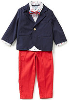 Class Club Little Boys 2T-7 3-Piece Nautical Sailboat Suit Set