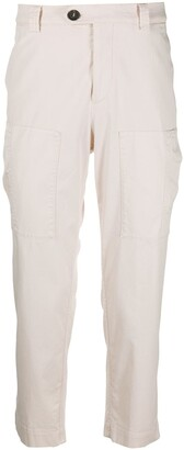 Brunello Cucinelli Multi-Pocket Cropped Trousers