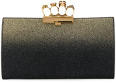 Alexander McQueen Knuckle clutch - women - Calf Leather - One Size