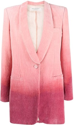 Philosophy di Lorenzo Serafini Ombre Single-Breasted Blazer