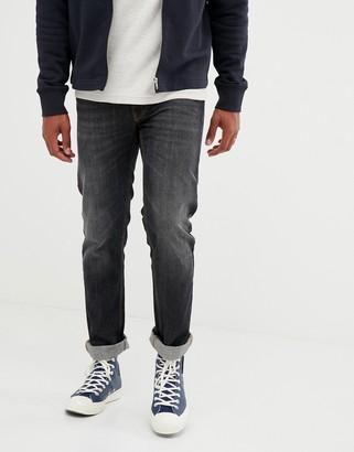 Benetton regular fit jeans in indigo wash-Blue
