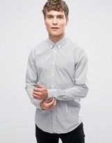 BOSS ORANGE by Hugo Boss Edipoe Retro Print Shirt Slim Fit Buttondown