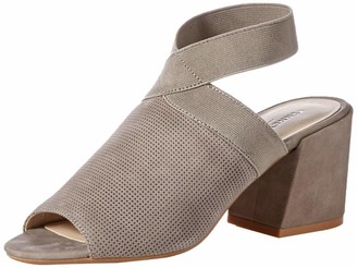 Kenneth Cole New York Women's Hannon Elastic Ankle Strap Heeled Sandal