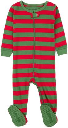 Leveret Striped Footed Pajama Sleeper