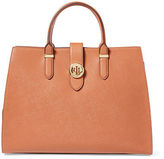 Ralph Lauren Textured Leather Tote