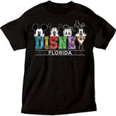 Disney Men's Florida Mickey Mouse Pluto Donald Goofy T Shirt