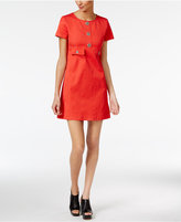 Love Moschino Daisy-Button Shift Dress