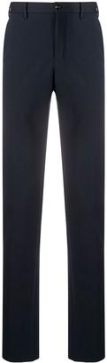 Pt01 Elasticated-Waistband Straight-Leg Trousers