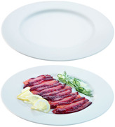 LSA International Dine Charger/Serving Rimmed Plate Set of 2