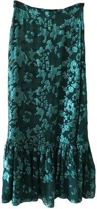 Temperley London Green Silk Skirts