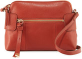 Foley + Corinna Emma Leather Crossbody Bag, Rust