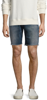 7 For All Mankind Cut-Off Straight Fit Shorts