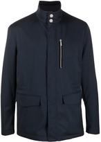 Giorgio Armani Stand-Collar Field Jacket