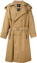 Blood Brother Park trench coat - men - Cotton - S