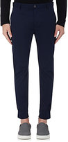 Lanvin Men's Twill Biker Pants-NAVY