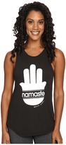 Spiritual Gangster Namaste Stripes Muscle Tank Top