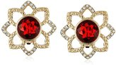 "Carolee The Big Apple"" Clip-On Earrings"